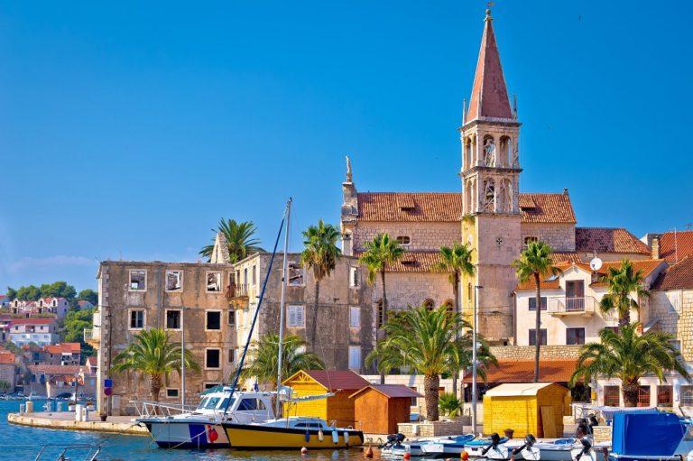 Crucero por las islas de Dalmacia, Croacia