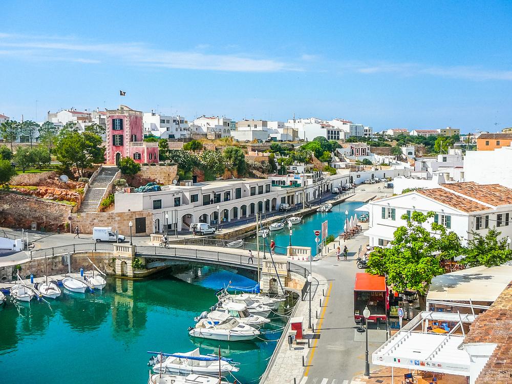 Vista sobre Ciutadella de Menorca