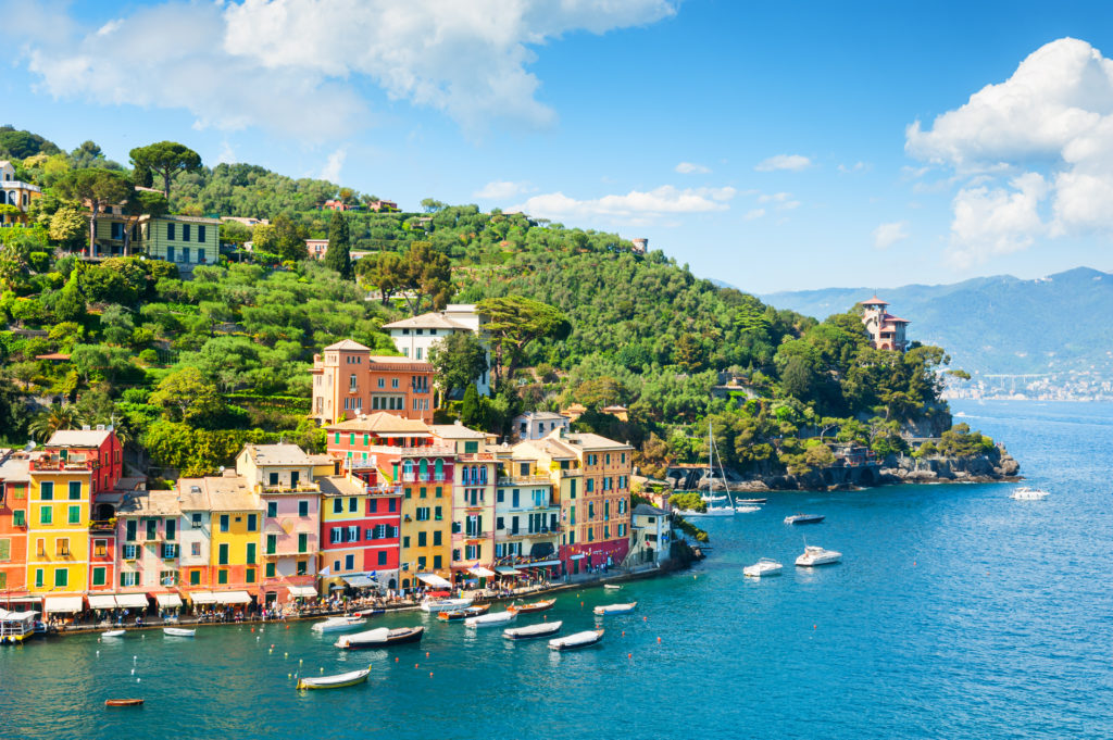Somewhere in Portofino, Italy