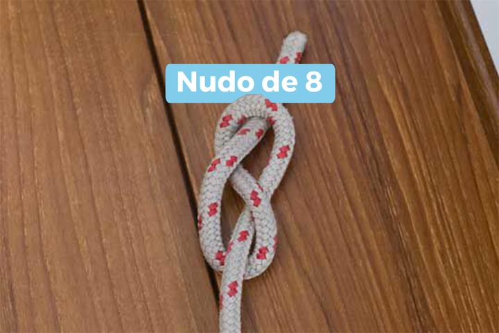 Nudo de 8