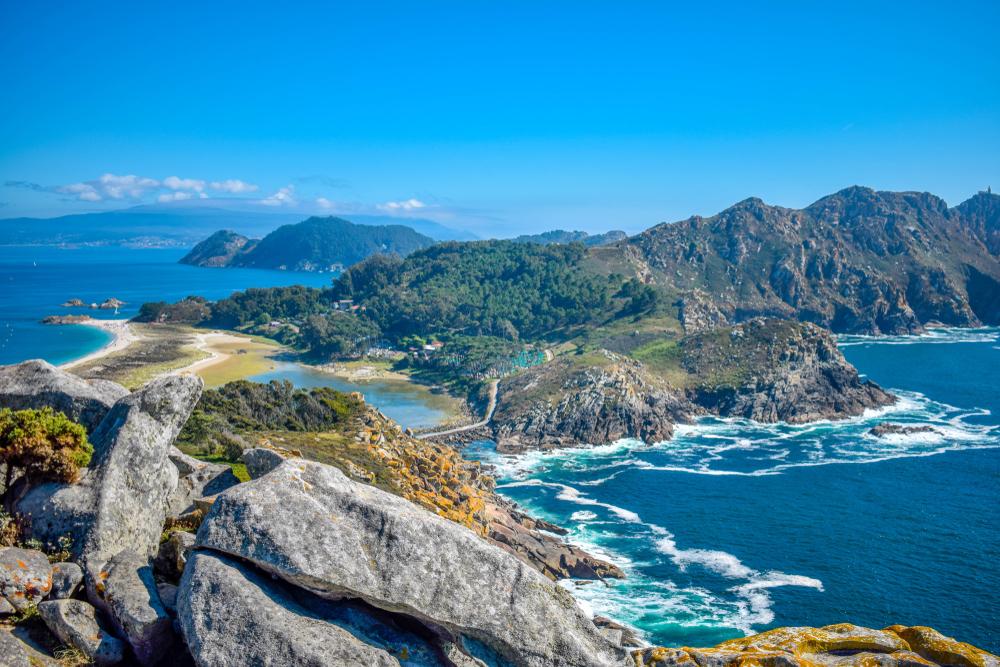 Islas Cies, Vigo, España